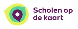 logo scholen op de kaart